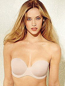 Underwire Molded cup strapless bra